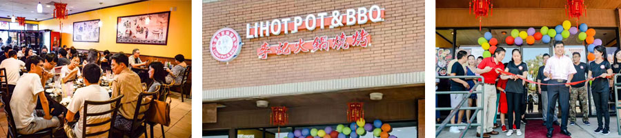 The Project Of Hot Pot And Barbecue Restaurant Equipment In