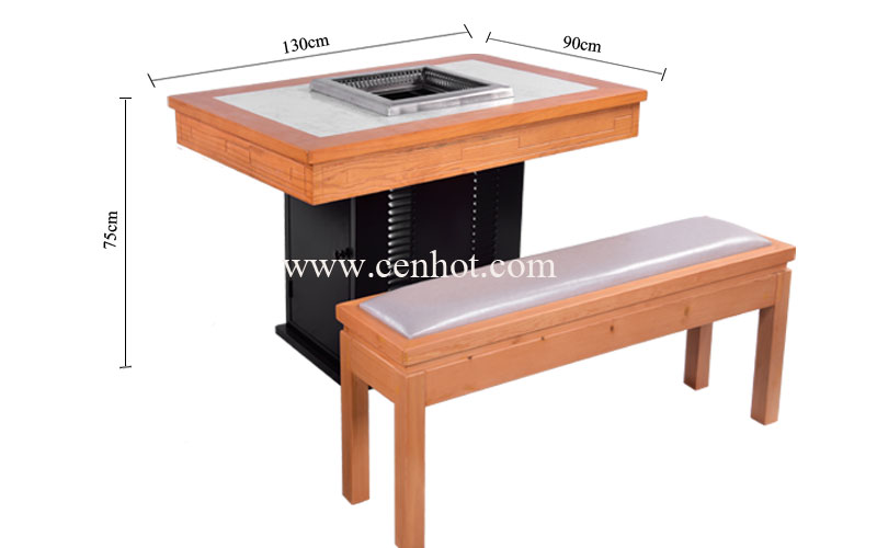 CENHOT-Restaurant-Smokeless-Hot-Pot-Tables-And-Chairs-Sets-Manufacturers-CH-T32