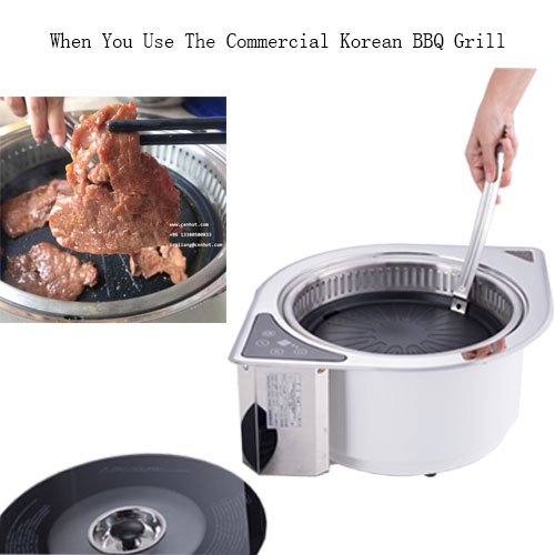 use the Indoor Commercial Korean BBQ Grill - CENHOT