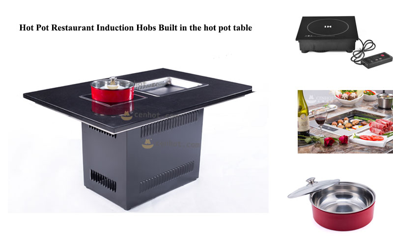 CENHOT Hot-Pot-Restaurant-Induction-Hobs-Built-in-the-hot-pot-table---CH-F280X