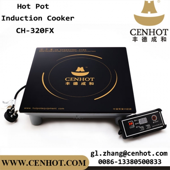 Cenhot 3000w Restaurant Cooking Equipment Commercial Hot Pot Induction Cooktop