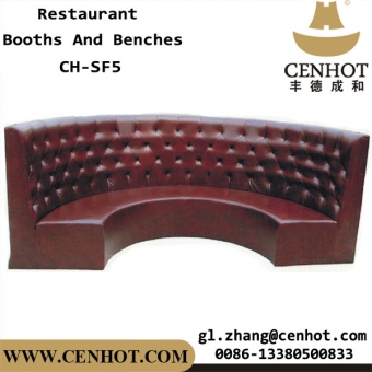 CENHOT Commercial Restaurant Corner Booth Seating For Sale