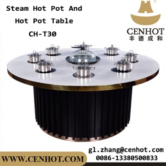 CENHOT Shabu Shabu And Steam Hot Pot Tables Supplier China