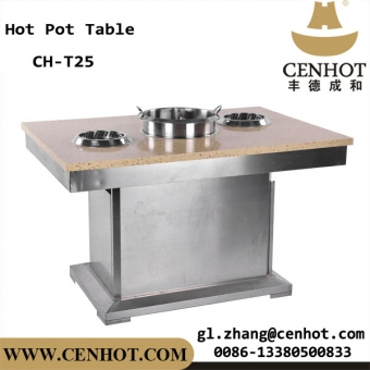CENHOT Smoke-free Hot Pot Table With Purifier Manufacturers