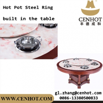 CENHOT Sunken Style Hot Pot Pot Rings For Restaurant