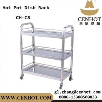 CENHOT Stainless Steel Hot Pot Dish Racks For Restaurant CH-C8
