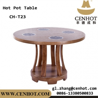 CENHOT Built In Hot Pot Restaurant Shabu Table For Sale China