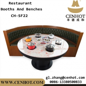 CENHOT U Shaped Restaurant Booths Furniture Manufacturers CH-SF22