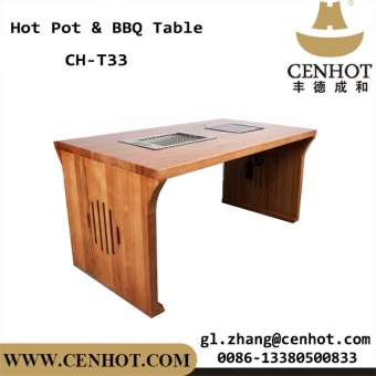 CENHOT Restaurant Hot Pot Table And BBQ Table Manufacturer