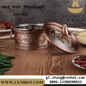 CENHOT Best Stainless Steel Hot Pot Stock Pots For Sale