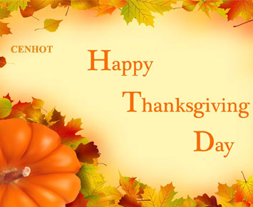 Happy Thanksgiving Day - CENHOT